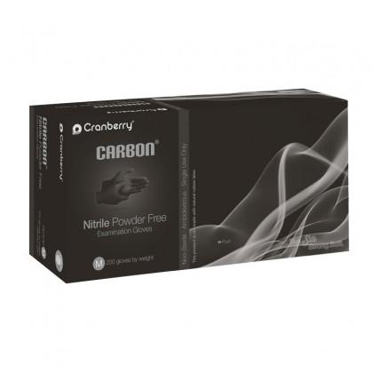 Cranberry CARBON® Nitrile Powder Free Examination Gloves 200's