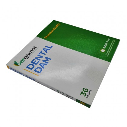 Bergamot Dental Dam (Mint Flavor)