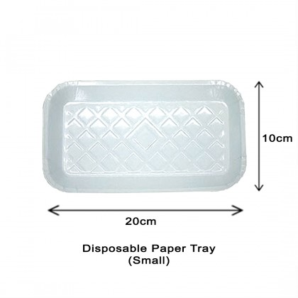 Disposable Paper Tray 50's