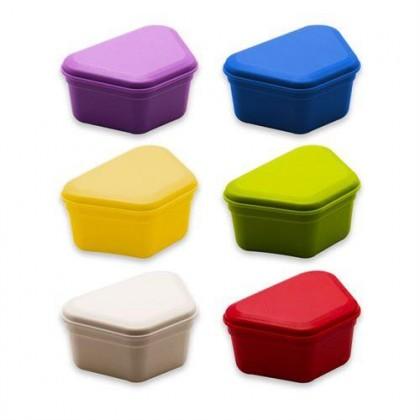 Denture Box (Assorted Colour) 12's