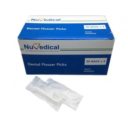 Dental Flosser Picks (White) 200's