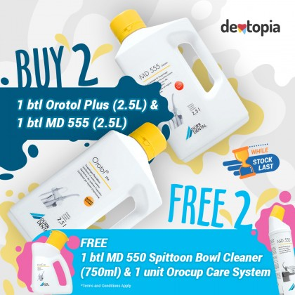 Dürr Dental MD555 Cleaner - 2.5L