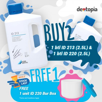 Dürr Dental ID220 Bur Disinfectant - 2.5L