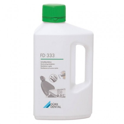 Dürr Dental FD333 Quick Acting Disinfectant (Ready-to-Use) - 2.5L