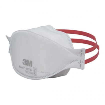 3M™ Aura™ Health Care Particulate Respirator and Surgical Mask 1870+ N95