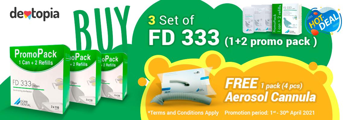 Duerr Dental FD333 promo