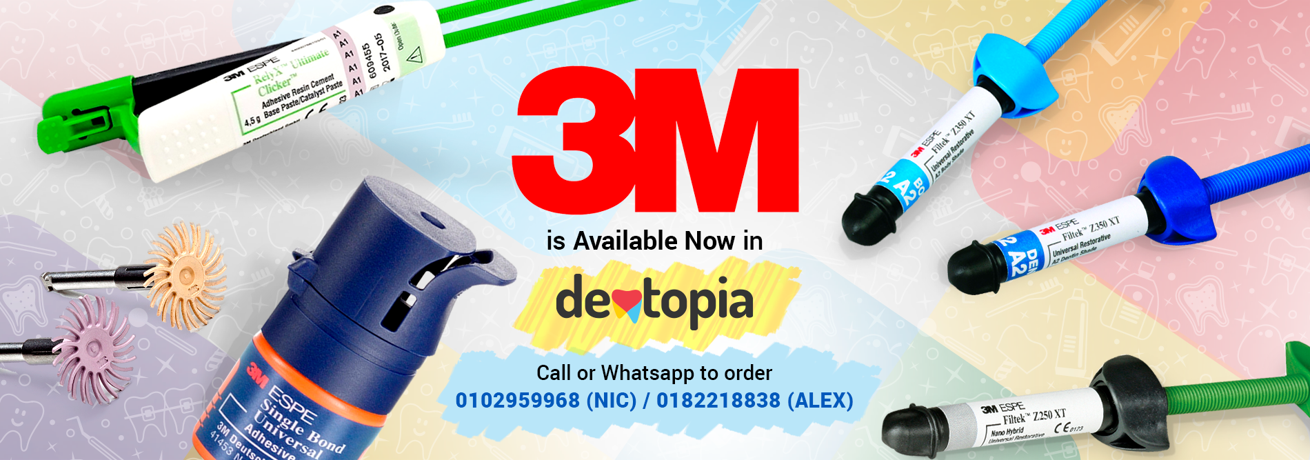 3M is Available Now in Dentopia
