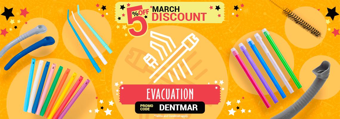 5% March Discount - Evacuation